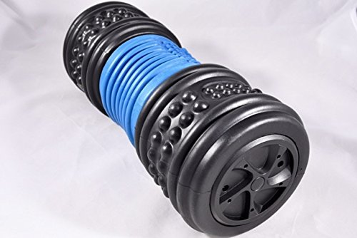RPM - 4-speed vibrating foam massage roller. Deep reaching and targeted massager, created for the active person. Compact for travel, 3 hours of premium battery life and quiet motor. by MendBro, Inc. (Image #2)