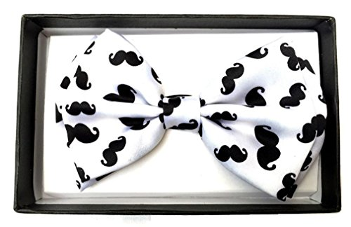 [Lunarland Pre-tied Adjustable Bowties Tuxedo Wedding Party Costume Bow-ties Mens Womens] (Milk Eggs Cheese Costume)
