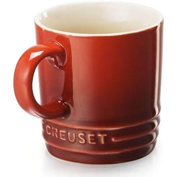 Amazon Com Le Creuset Stoneware 12 Ounce Mug Cassis Le