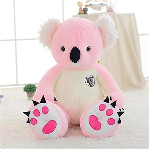 YXCSELL 90cm Pink Koala Doll Soft Cute Lovely Plush Stuffed Animal Toys Great Gift for Kids 35 Inches