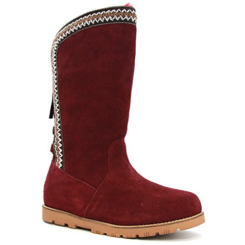 Lamo Womens Madelyn Chelsea Boot Burgundy