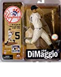 : McFarlane Toys MLB New York Yankees Cooperstown Collection Series 4 Joe DiMaggio Action Figure [Gray Uniform]