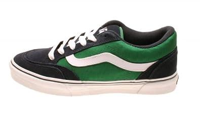 cebd8208027667 Vans Schuhe HOLDER Navy White Green  Amazon.de  Schuhe   Handtaschen