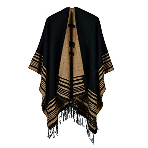 Zando Womens Scarves Fall Fashion Scarfs Soft Plaid Blanket Scarf For Women Winter Shawl Cape Scarf Wrap F Yellow Navy