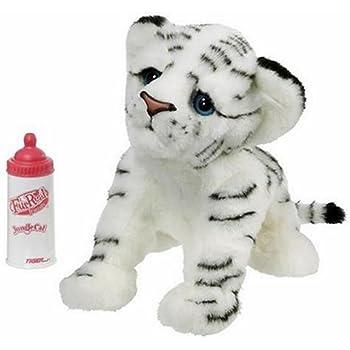 Amazon Com Furreal Friends Jungle Cat White Tiger Cub