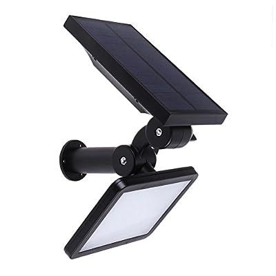 UEB LED Lawn Lamp Outdoor Solar Power 48 LEDs Wall Spotlight Garden Street Lamp