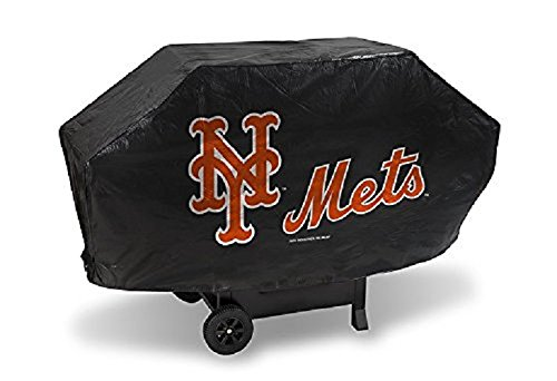 (MLB New York Mets Deluxe 68-inch Grill Cover)