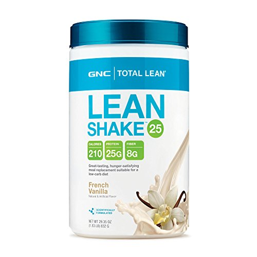 GNC Total Lean Shake, French Vanilla, 1.83 Pound