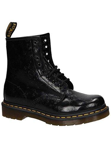 Dr Harvey nero Donna Rangers Martens Boots Nero 1460 8n6Hgq08
