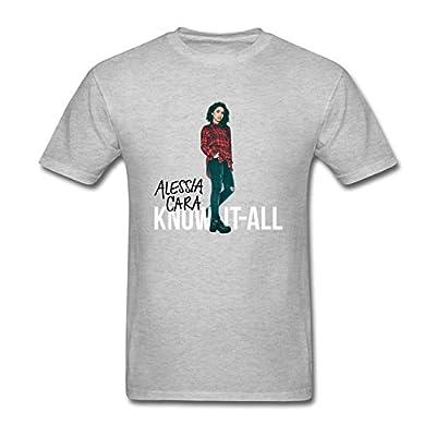 SDAKGF Men's Alessia Cara T Shirt S