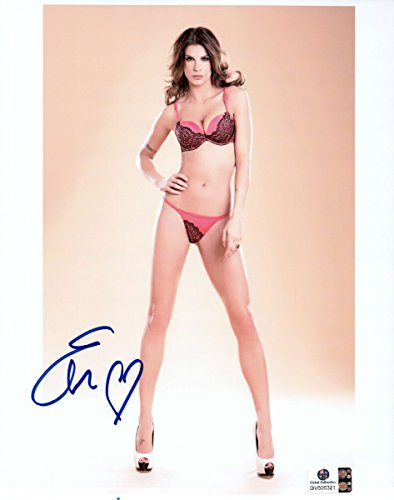 elisabetta-canalis-signed-autographed-8x10-photo-sext-pink-black-lingerie-806321