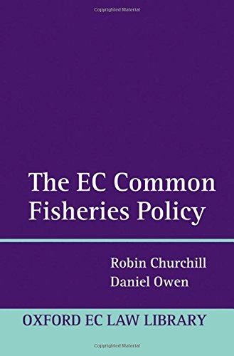 The EC Common Fisheries Policy by Oxford University Press