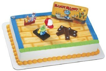 Disney Handy Manny Cake Toppers -