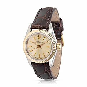Rolex Oyster Perpetual automatic-self-wind female Watch 67193 (Certified Pre-owned)