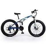 EGO TECHNOLOGY Bicicleta Plegable 26´ Fat Tire Doble Suspension Shimano