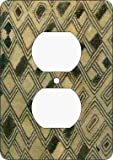 Kuba Cloth Outlet Cover (Afric