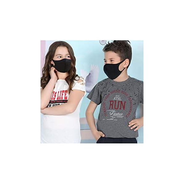 1053-Masken-Kinder-Mund-und-Nasenschutz-Stoff-Kindermasken-waschbar-in-schwarz-112-Einheitsgre-5X-Schwarz
