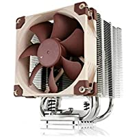 Noctua NH-U9S, Ventirad CPU format simple tour (92mm) Marron, Métallique, Beige