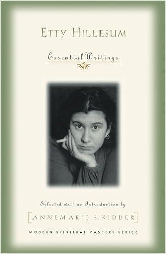 Essential Writings Modern Spiritual Masters Etty Hillesum