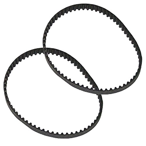 4YourHome 2-Pack Geared Drive Belt Designed to Fit Hoover Wind Tunnel Air Part 562535001 - Agitator Drive Belt