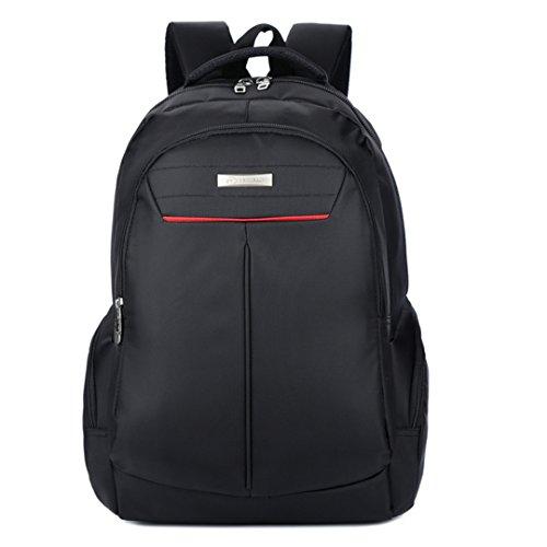 Wewod bolso de la manera de los hombres de la manera bolso al aire libre del alpinismo del recorrido bolso de la computadora del negocio impermeable 33 cm * 48 cm * 19 cm (Púrpura) Negro