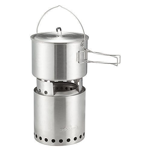 Solo Stove 2 Pot Set: Stainless Steel Companion Pot Set for Solo Stove Campfire. Great for Backpacking, Camping, Survival