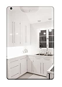 New Contemporary White Kitchen With Double Stainless Steel Sink Tpu Case Cover, Anti-scratch ZippyDoritEduard Phone Case For Ipad Mini/mini 2