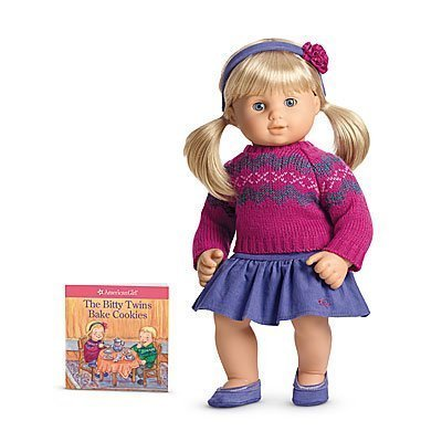 American Girl Bitty Baby Twins Fair Isle Skirt Set for 15' Dolls (Doll Not Included)