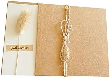[해외]Topdo 10PCS Envelopes Invitation Envelopes Square Flap Envelopes with White Blank Message Cards Note Cards DIY Graffiti Cards for Wedding Birthday Card Making Supplies / Topdo 10PCS Envelopes Invitation Envelopes Square Flap Envelo...