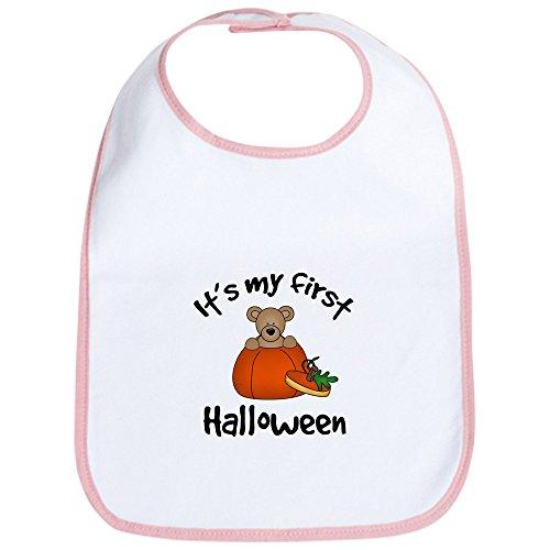 CafePress - Baby's 1st Halloween Bib - Cute Cloth Baby Bib, Toddler Bib