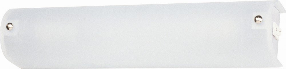 Globo Spiegelleuchte Chrom Glas satiniert, Schalter 2 x 40 W, E14, 230 V, 35 x 7.5 cm 4101 [Energieklasse A++] GLOBO Handels GmbH 33886