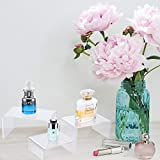 Chuangdi 2 Sets Clear Acrylic Display