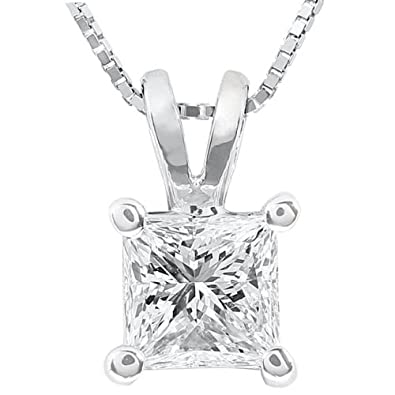 princess products rose mirabess in gold per cut diamond bail rg solitaire double pendant