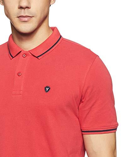 Van Heusen Men's Solid Regular Fit Polo Discounts Junction