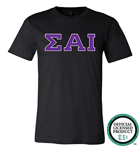 SIGMA ALPHA IOTA | Purple Letters - Licensed Unisex T-shirt