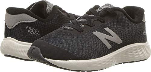 - New Balance Boys' Arishi Next V1 Running Shoe, Black/Magnet, 8 M US Toddler