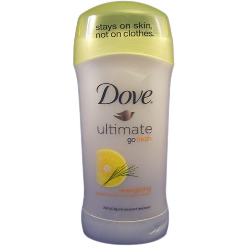 Dove Go Fresh ultime énergisant anti-transpirant Déodorant 2,6 oz (Pack de 6)