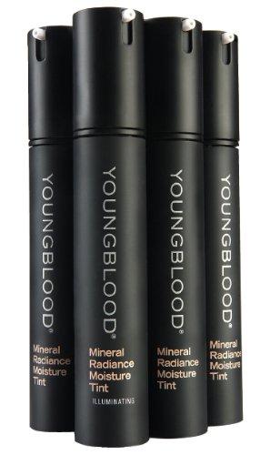 Youngblood - Mineral Radiance Moisture Tint # Tan - 30ml/1oz Eminence Tropical Vanilla Body Sun Cream Spf 32, 5 Ounce