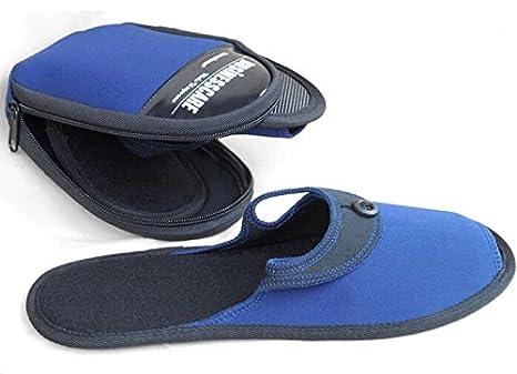 ZeleSouris HM-01- Zapatillas de andar por casa para hombre y mujer,