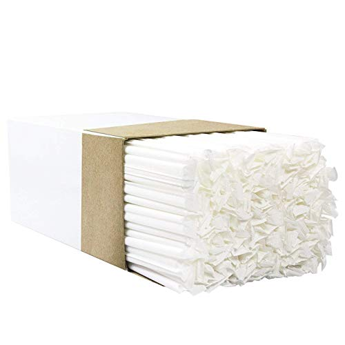 500 Straws 4in - Avant Grub's BPA-Free Big, Premium Straws 300 Pack. Paper-Wrapped, Clear, Thick, & Jumbo Sized (Big at 10.25 in Tall, .3 in Wide). Restaurant-Grade & USA-Made.