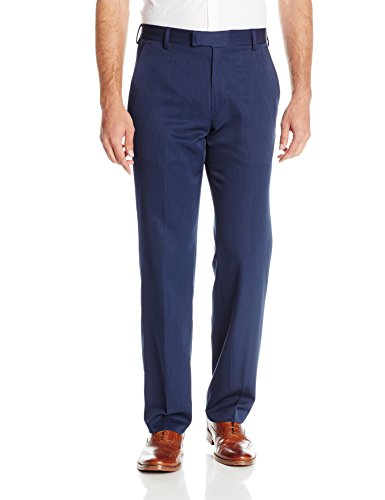 - Kenneth Cole REACTION Men's Urban Heather Slim Fit Pant, Blue, 36Wx30L