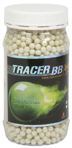 2400 G&G Armament Glow In The Dark Tracer .20g 6mm Airsoft BBs ()