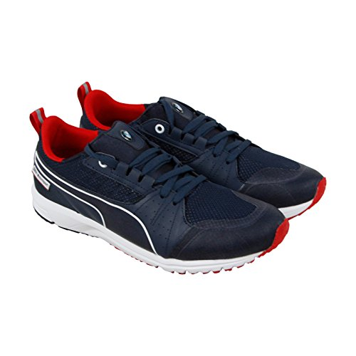 PUMA Men's Ignite XT Core Running Shoe, Asphalt/Black/Red Blast, 10.5 D US