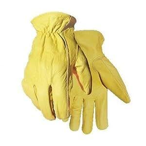 Golden Stag Work Glove Heavy Duty Gold Buffalo Fleece