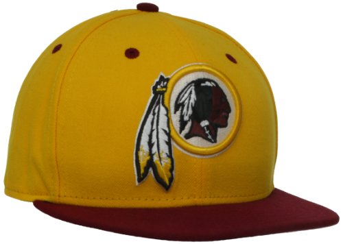 NFL Washington Redskins Two Tone 59Fifty Fitted Cap, Gold/Red, 6 - Limited 3d Edition Glasses Avengers