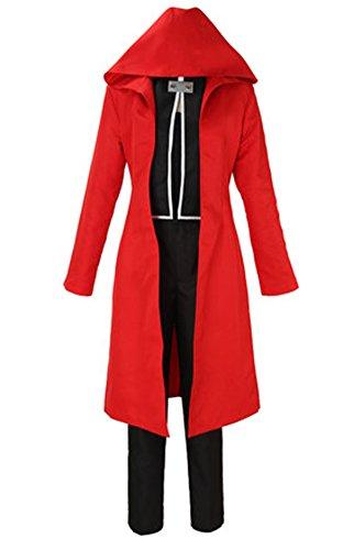 FOCUS-COSTUME Fullmetal Alchemist Edward Elric Red Suit Cosplay Costume