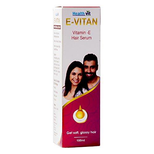 Healthvit E-Vitan Vitamin E Oil Hair Serum 100ml from Healthvit