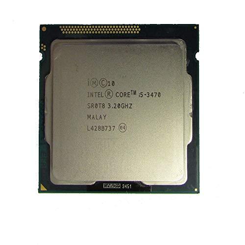 Intel SR0T8 CPU I5-3470 3.2GHZ 6MB Core i5-3470 3.20GHz Quad Core 6M Socket 1155 CPU Processor (Renewed)