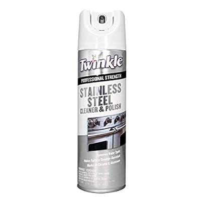 Twinkle Stainless Steel Cleaner & Polish, 17 oz