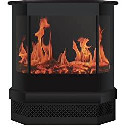 Frigidaire CMSF-10310 Cleveland Floor Standing Electric Fireplace - Black from Frigidaire